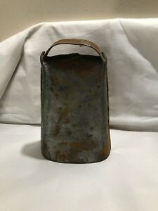 Antique Primitive Handmade Cow Bell Clanker