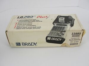 Brady I d Pro Plus Wire Marker Printer New
