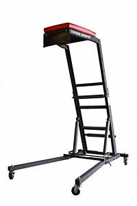 Traxion 3 100 Foldable Topside Creeper Adjustable Height Easily Move The Unit