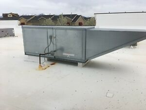 Captive aire Heated Make Up Air Supply Unit