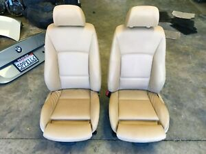 06 07 08 Bmw E90 325i 328i 330i 335i Beige Tan Vinyl Sport Seats Door Panels Set