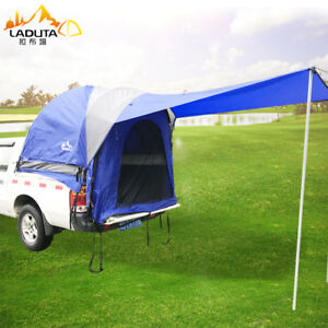 Pickup Truck Bed Tent Suv Camping Outdoor Canopy Pickup Cover Tents Roof