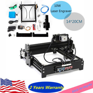 1420 Usb Desktop Cnc Laser Engraver Diy Marking Machine For Metal Stone Wood Usa