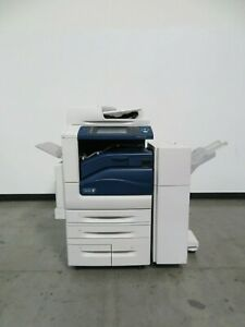 Xerox Workcentre 7845 Color Copier Printer Scanner Only 43k Copies 55 Ppm