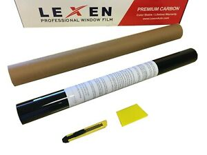 Lexen 2ply Premium Carbon 20 X10 Roll Window Tint Film 20 X10 Medium Shade 35