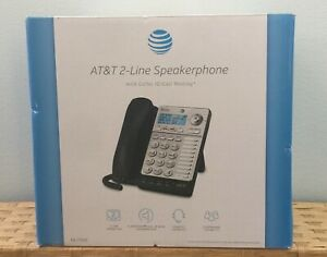 At t Ml17928 2 Line Office Phone And Home Phone W Speaker Phone Etc