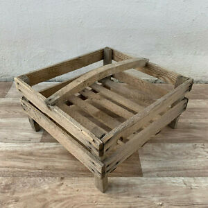 French Old Wooden Seed Tray Crates Small Size 1902199