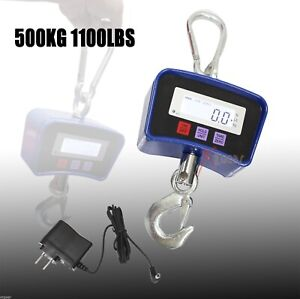 Heavy Duty 500 Kg 1100 Lbs Digital Crane Scale Industrial Hanging Scale