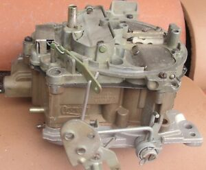 69 Chevelle Camaro Impala Nova 7029202 Quadrajet Carburetor Carb 350 327 Dated
