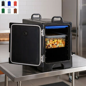16 3 4 X 24 X 25 Front Loading Insulated Catering Hot Cold Food Pan Carrier