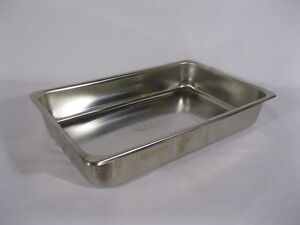 Medical Instrument Tray stainless Steel 12 1 4 X 7 3 4 X 2 1 4