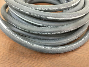 3 8 Id 9 5mm Heater Hose By Gates Made In Usa 3 Feet Rubber Coolant Hose