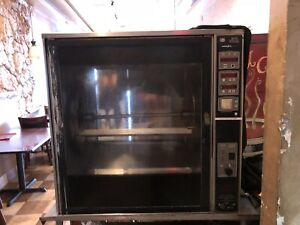 Henny Penny Scr 8 Chicken Rotisserie Oven Electric 208 3ph Commercial W stand