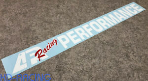 Apr Racing Performance Windshield Decal Sticker Free Shipping X 1
