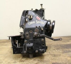 Vintage Union Special 43200 A Industrial Denim Sewing Machine