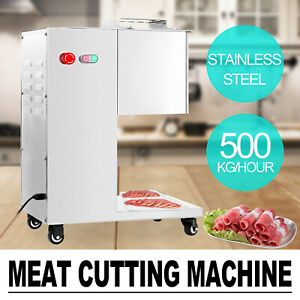 Meat Cutting Machine Slicing Meat Cutter Slicer 500kg Output With Blade