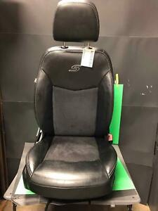 2012 Chrysler 200 S Driver Front Seat Bucket 8wy Adjust Leather Black X9 W Track