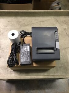 Epson Tm t88v Pos Receipt Printer W serial Interface