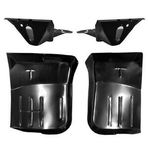 1968 1978 Ford Pickup Truck Front Cab Floor Pan Support Kit Bronco L r Side