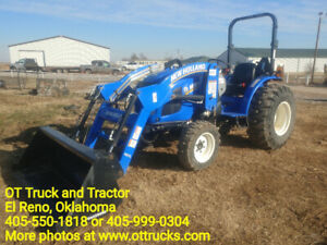 2017 New Holland Workmaster 40 Loader Tractor 38hp 1 2hrs Used