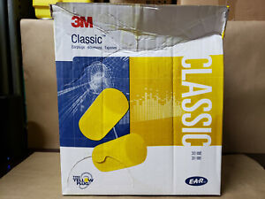 3m 29db Disposable Cylinder Shape Ear Plugs Without Cord Yellow Universal
