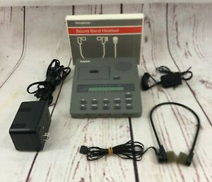 Dictaphone 3750 Microcassette Dictator Transcriber W Hand Mic Power Supply