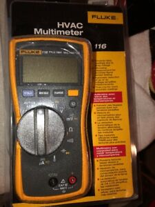 Fluke 116 True Rms Multimeter Brand New Factory Sealed Hvac Meter