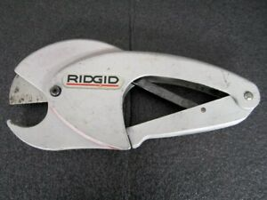 Ridgid 138 Ratcheting Tubing Pipe Cutter Made In Usa