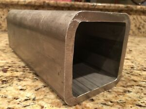 Stainless Steel Square Heavy Wall Tube Tubing 4 X 4 X 3 8 Wall X 10 Long