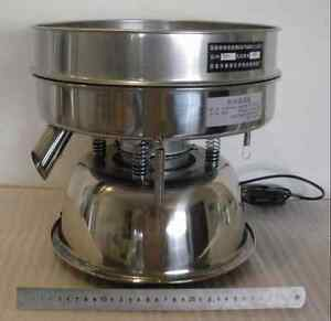 Stainless Steel Electric Chinese Medicine Sieve Vibrating Sieve Machine 110v Tn