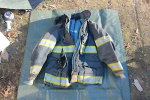 Globe Firefighters Jacket Model Gx 7 Turnout Gear Fireman Size 42x32