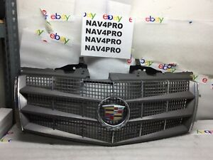 2008 2009 2010 2011 2012 Cadillac Cts Upper Grille With Emblem Oem 7