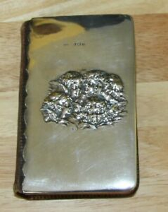 Antique Common Prayer Holy Bible Silver Cover Hallmarked Beautiful