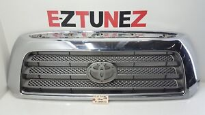 2007 2008 Toyota Tundra Front Grille Chrome Oem