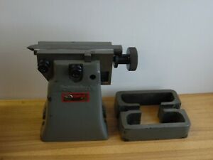 Bridgeport Milling Machine Rotary Table Tailstock 8 9 Center Height W Riser