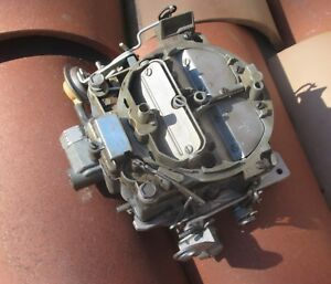 1967 Impala Chevelle Camaro 396 427 Rochester 4bbl Carburetor 7037211 4 Speed