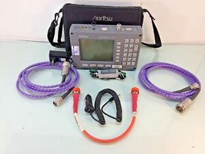 Anritsu Sitemaster S113b Cable Antenna Spectrum Analyzer W Phase Cables