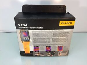 New Fluke Flk vt 04 Visual Ir Infrared Thermometer