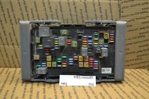2007 2012 Chevrolet Silverado 1500 Fuse Box Junction Oe 25815389 Module 545 10a1