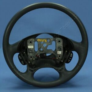 New Gm Oem Pewter Leather Steering Wheel 16867176 1998 2002 Oldsmobile Intrigue