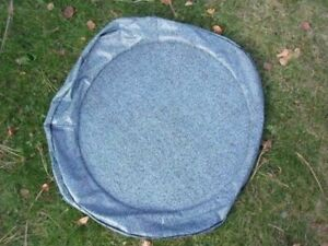 Loose Fit Spare Tire Cover Protector Bag Aqua 1pc For 1964 1968 Gto 2dr Hardtop