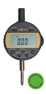 Digital Dial Gauge With Ip54 Protector Calibrated Nach Vdi Vde Dgq New