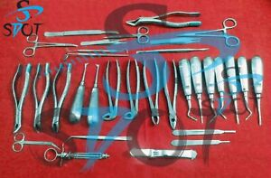 20 Instruments Set For Orthopedic Veterinary Surgical Surgery Sdot Instruments