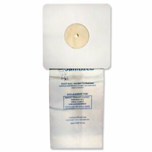 Vacuum Filter Bags Designed To Fit Nobles Portapac tennant 100 ct