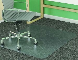 Supermat Frequent Use Chair Mat Med Pile Carpet Flat 46 X 60 Rectangle Cr