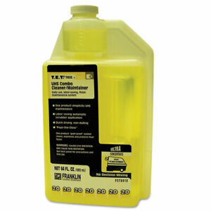 T e t 20 Uhs Combo Floor Cleaner maintainer Citrus Scent 2qt Bottle 2 ct