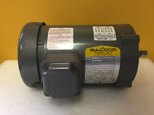 Baldor Vm3545 1 Hp 3450 Rpm 230 460 Vac 3 Ph 56c Electric Motor New