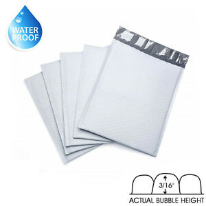 Poly Bubble Padded Mailers Bag Shipping Envelopes Packaging Pack
