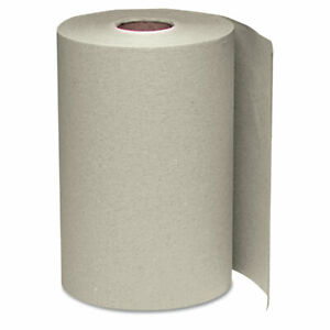 Nonperforated Paper Towel Roll 8 X 350ft Brown 12 Rolls carton