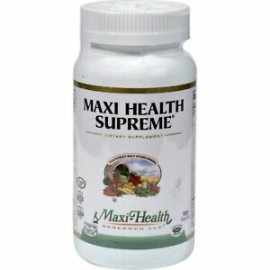 Maxi Health Supreme Vit And Min 180 Tablets